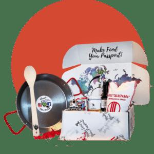 Adult Paella Food Explorer Box