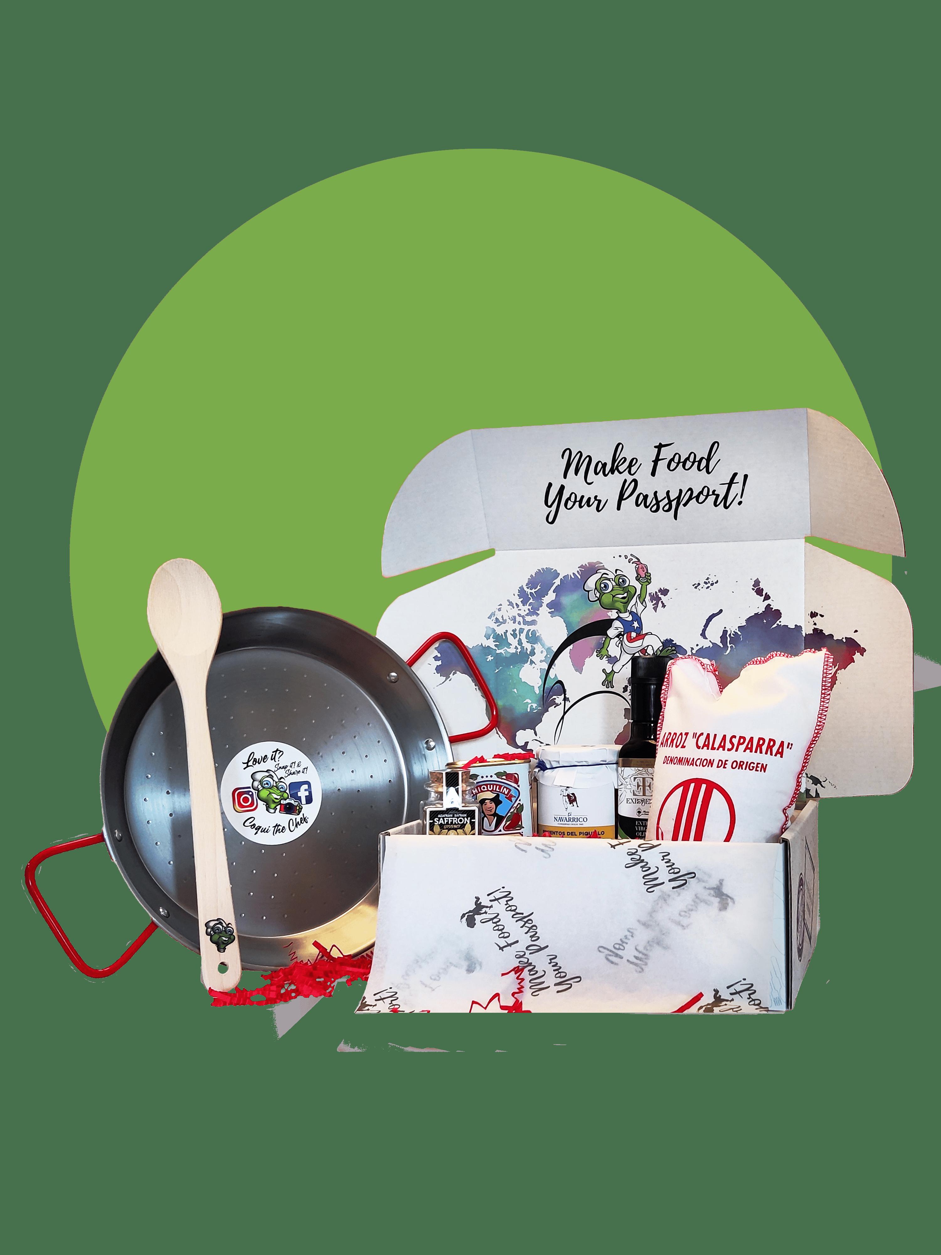 Paella Kids Food Explorer Box