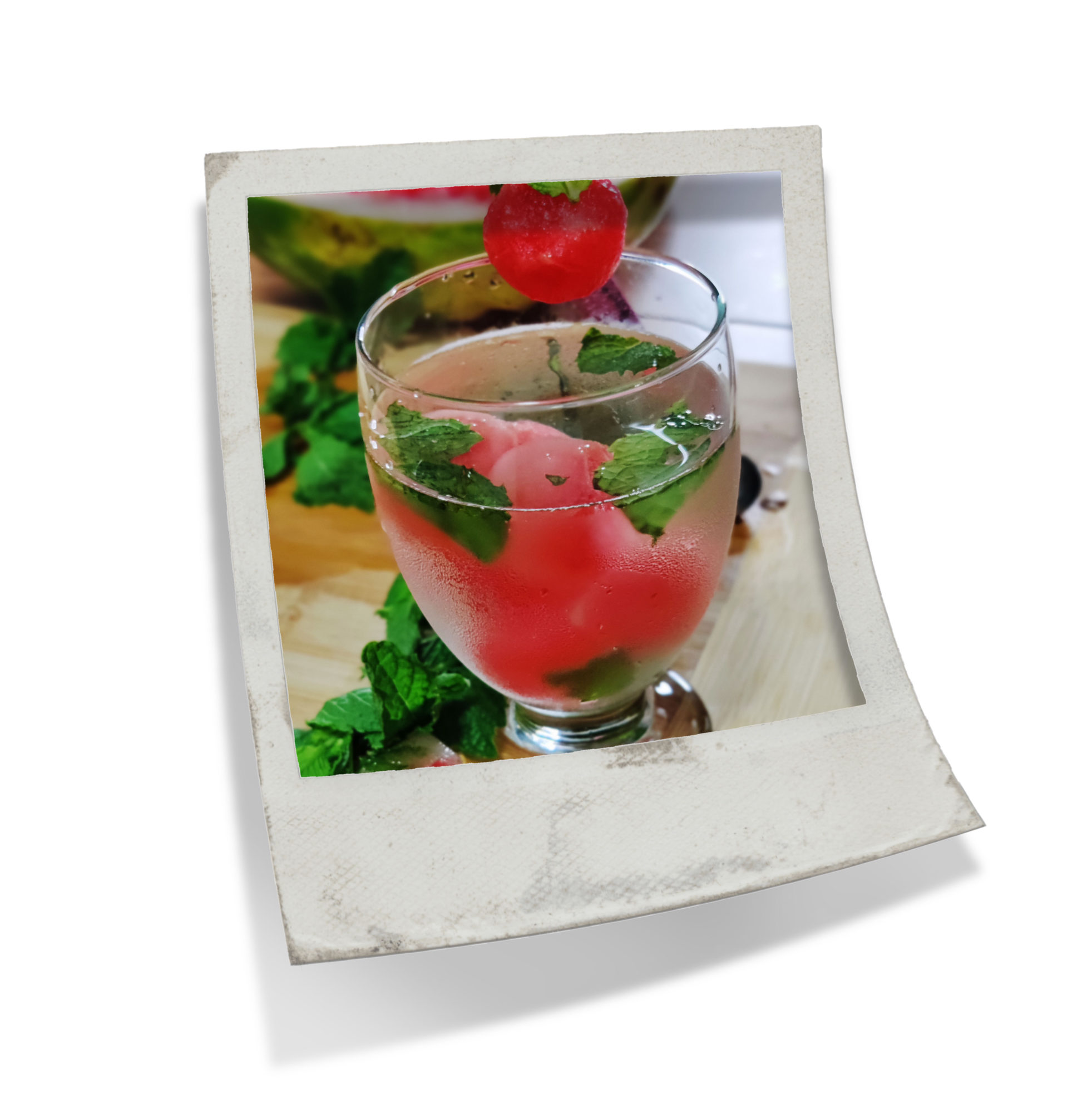 Watermelon Mint Drink Recipe