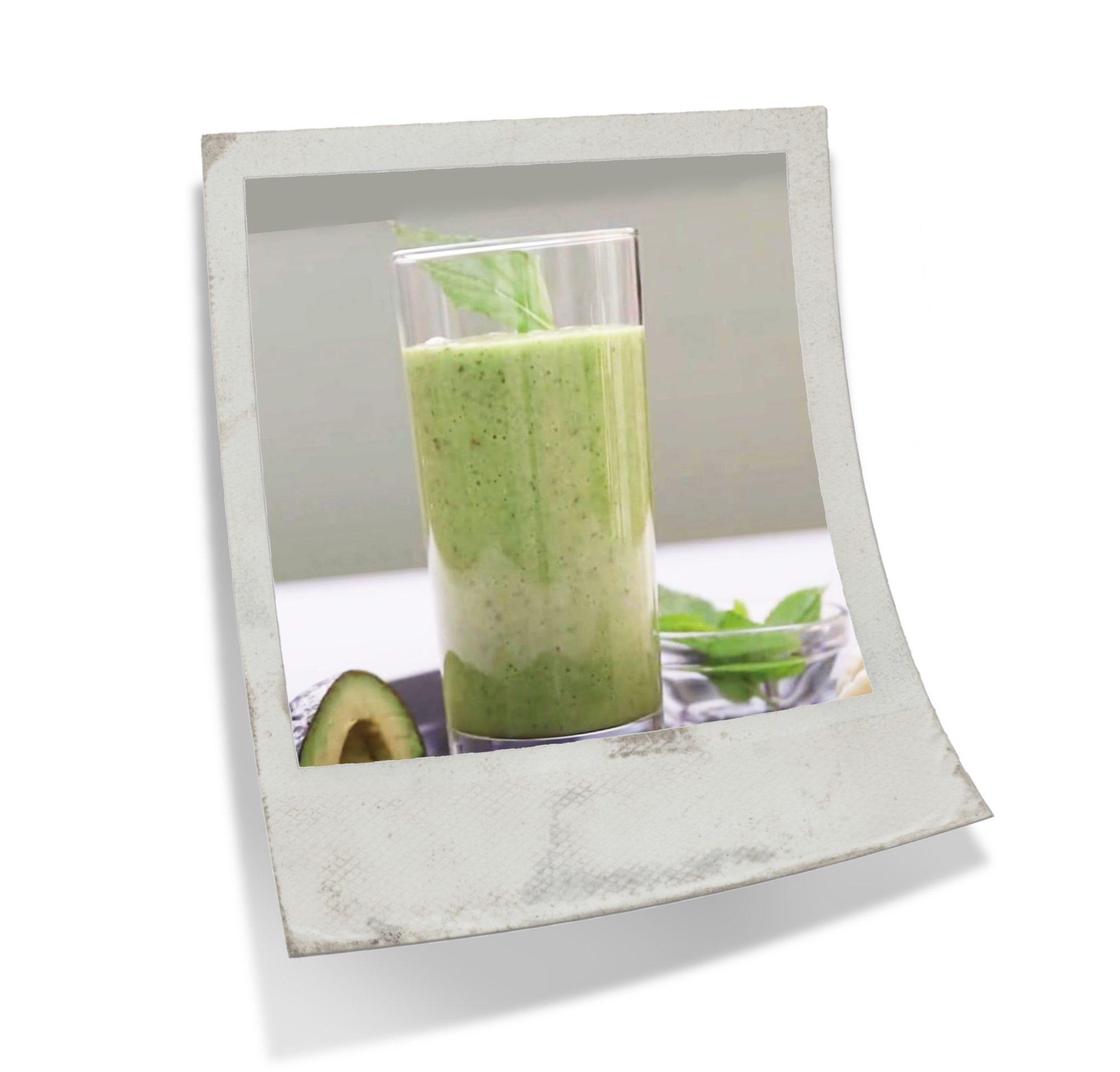 Avo-Banana Spinach Smoothie Recipe