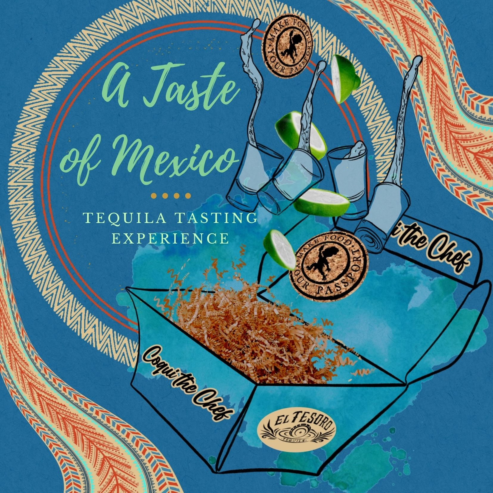 A Taste of Mexico Tequila Tasting Experience