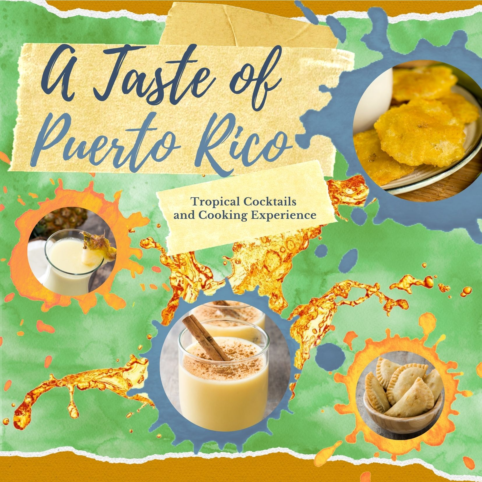 A Taste of Puerto Rico Cocktail Class
