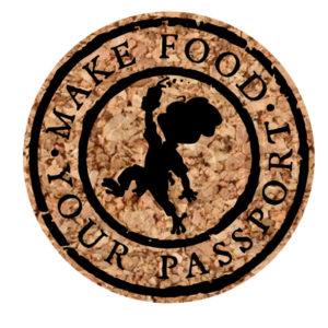 Make Food Your Passport Coasters